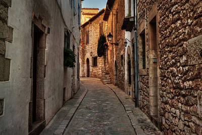 Poster featuring the photograph Catalonia - The Town Of Sitges 006 by Lance Vaughn