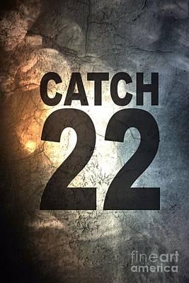 Catch 22 Textured Poster by Brian Raggatt