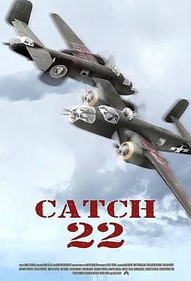 Catch 22 Theatrical  Poster 1970 Poster by David Lee Guss