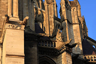 Cathedral Basilica Of Our Lady Of Amiens Poster