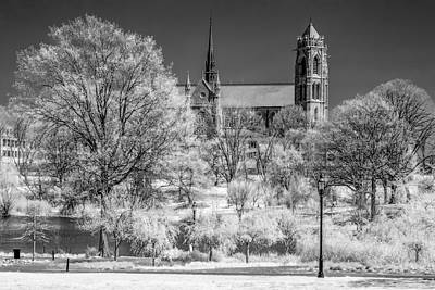 Poster featuring the photograph Cathedral Basilica Of The Sacred Heart Ir by Susan Candelario