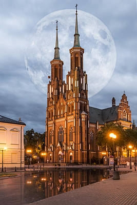 Poster featuring the photograph Cathedral by Jaroslaw Grudzinski