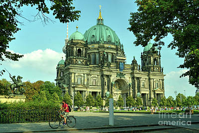 Cathedral Of Berlin  Poster by Rob Hawkins