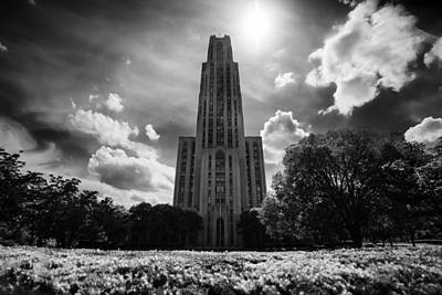 Cathedral Of Learning Poster by Beau Finley