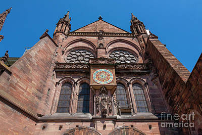 Cathedral Of Our Lady Strasbourg Alsace France Poster by Marco Arduino