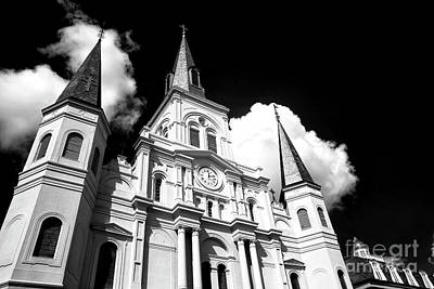 Cathedral Rising Infrared Poster by John Rizzuto