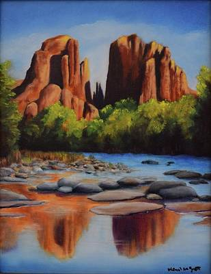 Cathedral Rock Poster by Michael McGrath