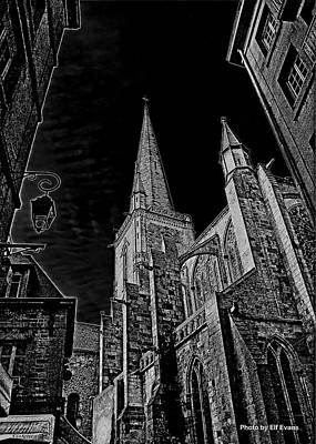 Poster featuring the photograph Cathedrale St/. Vincent by Elf Evans