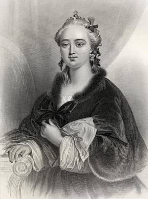 Catherine II, Catherine The Great Poster by Vintage Design Pics