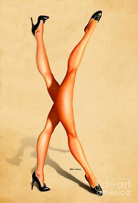 Catwalk Poster by Rafael Salazar