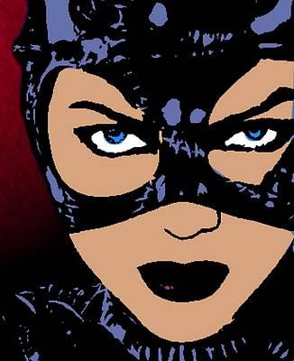 Catwoman-night Prowl-2 Poster by Otis Porritt