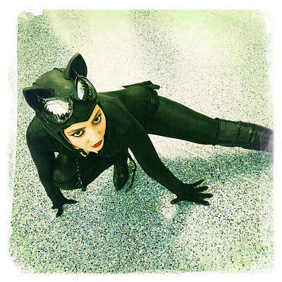Catwoman Poster by Nina Prommer