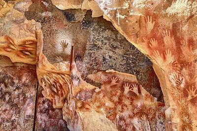 Cave Of The Hands Patagonia Argentina Poster