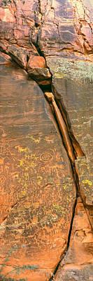Cave Painting, V-bar-v Heritage Site Poster