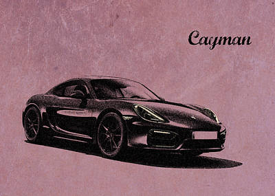 Cayman Poster by Mark Rogan