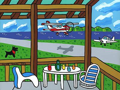 Cedar Key Airport Poster