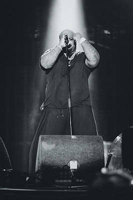 Ceelo Green Playing Live Poster by Marco Oliveira