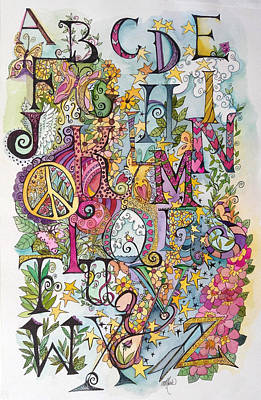 Celebrate Poster by Claudia Cole Meek