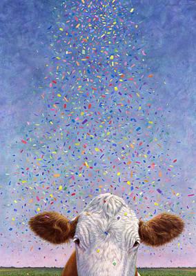 Celebration Poster by James W Johnson