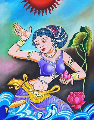 Celebration Of Woman Poster by Ragunath Venkatraman