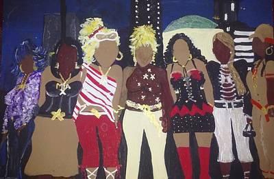 Celebrity Friends  Poster by Autoya Vance-Liggins