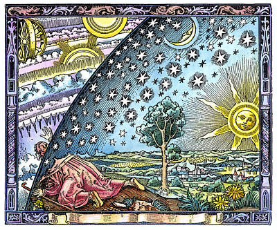 Celestial Mechanics, Medieval Artwork Poster