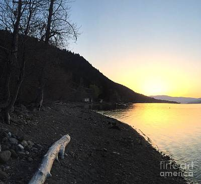 Poster featuring the photograph Celista Sunrise 1 by Victor K