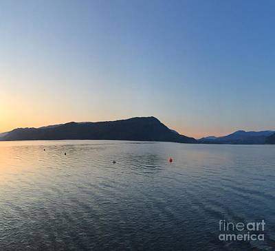 Poster featuring the photograph Celista Sunrise 2 by Victor K
