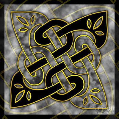Celtic Dark Sigil Poster