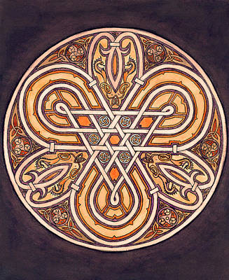 Celtic Piece Poster by Thacia Langham