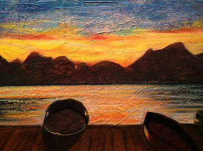 Celtic Sunset Poster