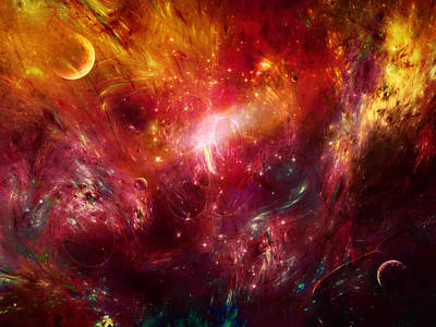 Centauri Dreams Abstract Moods Poster