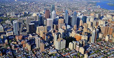 Center City Philadelphia Large Format Poster by Duncan Pearson
