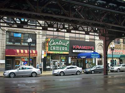Central Camera On Wabash Ave  Poster