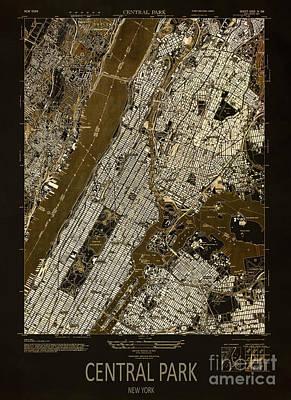 Central Park 1947 Poster