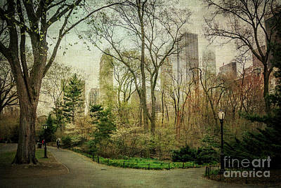 Central Park, New York City Poster by Joan McCool