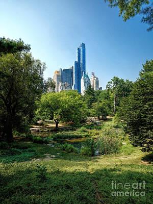Central Park Ny Poster