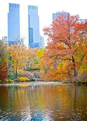 Central Park Poster by Stuart Monk
