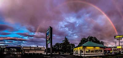Centralia Rainbow Poster by Tony Porter Photography