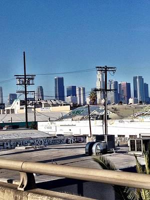 Centro De Los Angeles Poster