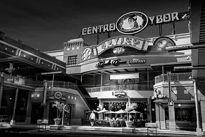 Centro Ybor Poster by Marvin Spates