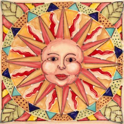 Ceramic Sun Poster