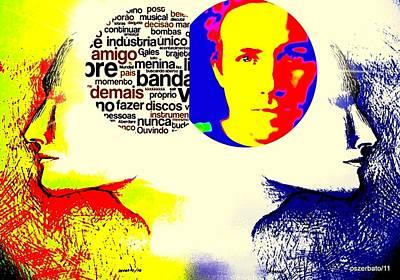 Cerebral Hemispheres Poster by Paulo Zerbato