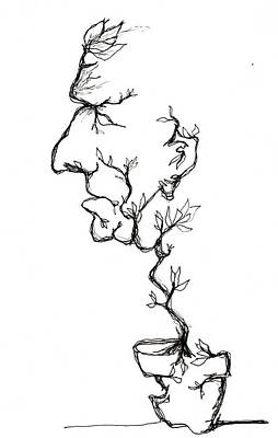 Cesar Salad-cracked Pots Poster