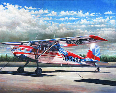 Cessna 140 Poster