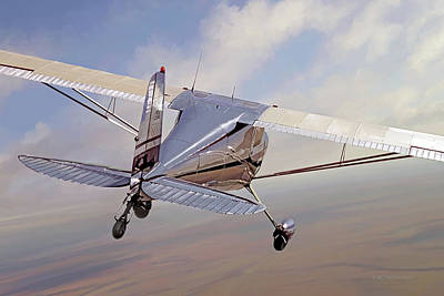 Cessna 140 Poster