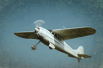 Poster featuring the photograph Cessna 195 by James Barber