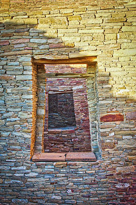 Chaco Canyon Windows Poster by Steven Ralser