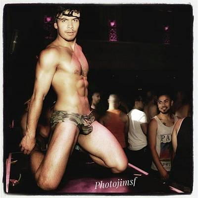 Poster featuring the photograph Chad Stewart. At A Gogo Boy Appearance by Mr Photojimsf