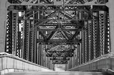 Chain Of Rocks Bridge Poster